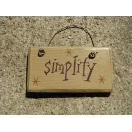 1003S - Simplify mini wood block