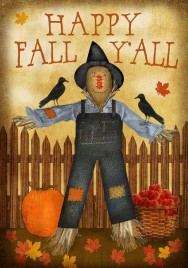 Happy Fall Y'all Garden Flag 2346HFY