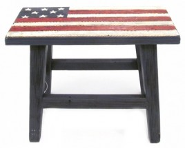 Patriotic Wood Bench 108546-Bench