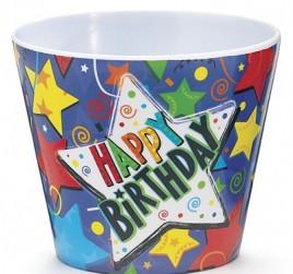 1174303 - Happy Birthday Plastic Pot