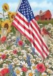 America The Beautiful 1181 Garden Flag