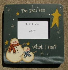 123654S-Do You See What I See? Picture Frame