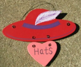 Wooden Red Hat 1327 - Red Hats