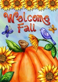 1544WF - Welcome Fall Garden Flag