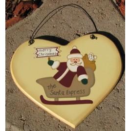 1600G -  Merry Christmas the Santa Express in Sleigh