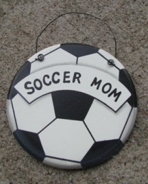 WD1900B - Soccer Mom wood sign