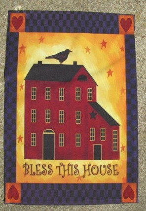 1946BH - Bless This House Garden Flag