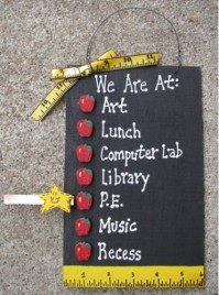 Teacher Gifts 2709 - We are At: