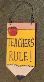 Teacher Gift Wood Pencil  28tr Teacher's Rule