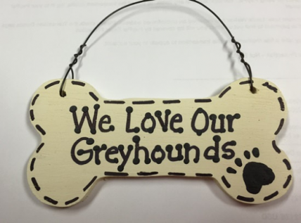 292083 I Love my Greyhound or We Love Our Greyhound