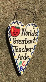 Teacher Aide Teacher Gifts 3003 Worlds Greatest Teacher Aide