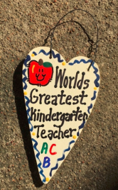 Teacher Gifts 3011  Worlds Greatest Kindergarten Teacher