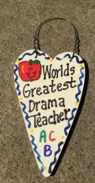 Teacher Gifts 3042  Worlds Greatest Drama Teacher