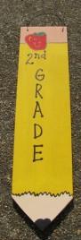 3075P2- 2nd Grade Teacher wood pencil