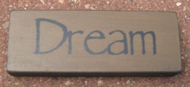 Primitive Wood Block 31419D - Dream