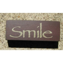 31419S - Smile wood block
