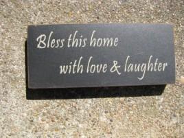 31433BTH Bless This House with Love and Laughter