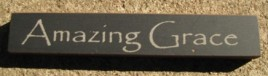 32317AB - Amazing Grace mini wood block