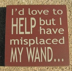 32363AHM I I'd Love to Help but I have replaced my wand wood block