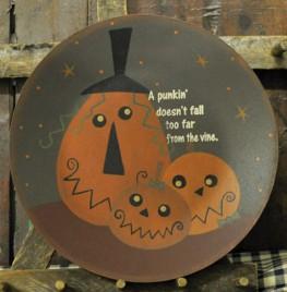 Primitive Fall Plate 32393-Kooky Jacks