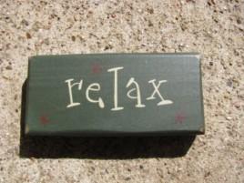4008R - Relax Mini wood block Green