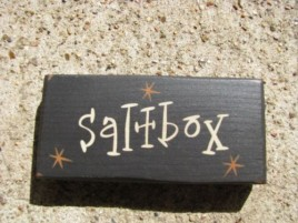4008S - Saltbox Mini wood block Black