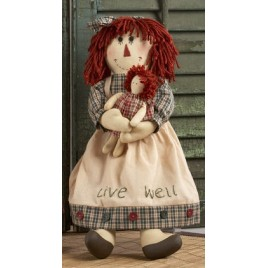 40884- Rag Doll  Live Well with Doll