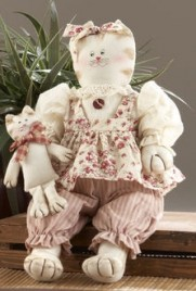 41508- Country Cats Pink
