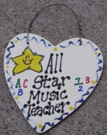 Music Teacher Gifts 5017 All Star Music Teacher