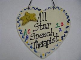 Speech Therapist Teacher Gifts 5020ST  All Star Speech Therapist