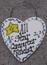 ComputerTeacher Gifts 5029 All Star Computer Teacher