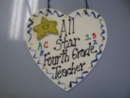 Fourth Grade Teacher Gifts  5035 All Star Fourth Grade Teacher