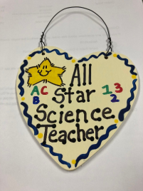Science Teacher Gifts 5037  All Star Science Teacher Handmade