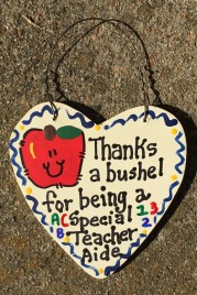 Teacher Gift 6010 Thanks a Bushel Special Teacher Aide