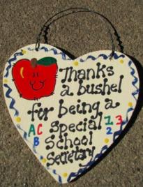 Teacher Gift  6018 Thanks a Bushel Special School Secretary