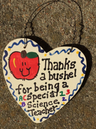 Science Teacher Gift 6025 Thanks a Bushel Special Science Teacher