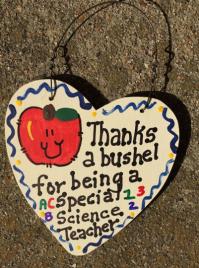 Science Teacher Gift 6025 Thanks a Bushel Special Science Teacher