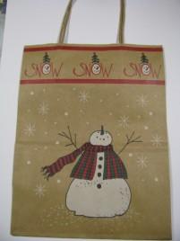 60613SN - Snowman Gift Bag