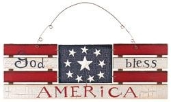 Patriotic Decor 61865 God Bless America
