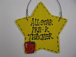 Teacher Gift 7003 All Star Pre-K Teacher