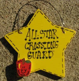Crossing Guard Teacher Gifts 7012 All Star Crossing Guard