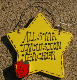 Inclusion Teacher Gifts 7026 All Star Inclusion Teacher