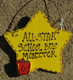 7028 All Star School Bus Monitor