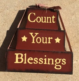 72097B - Count Your Blessings Block
