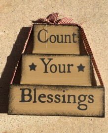 72097T - Count Your Blessings Block