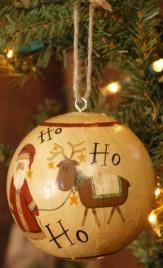 7D3962-Santa & Reindeer Ball