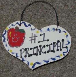 Teacher Gifts  808 Principal Wood Teacher Heart