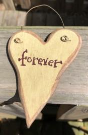9003FOR - Forever wood heart