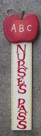 92447NP - Nurse Wood Hall Pass