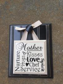 Mother Words Bead Board Plaque BM009